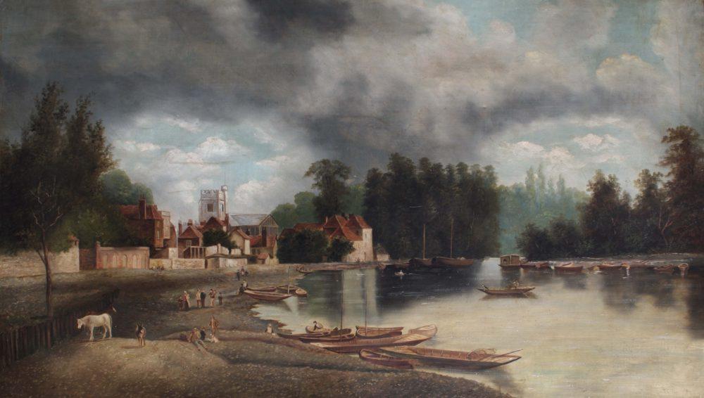 Twickenham Church and Embankment