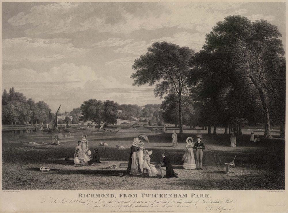 Richmond From Twickenham Park