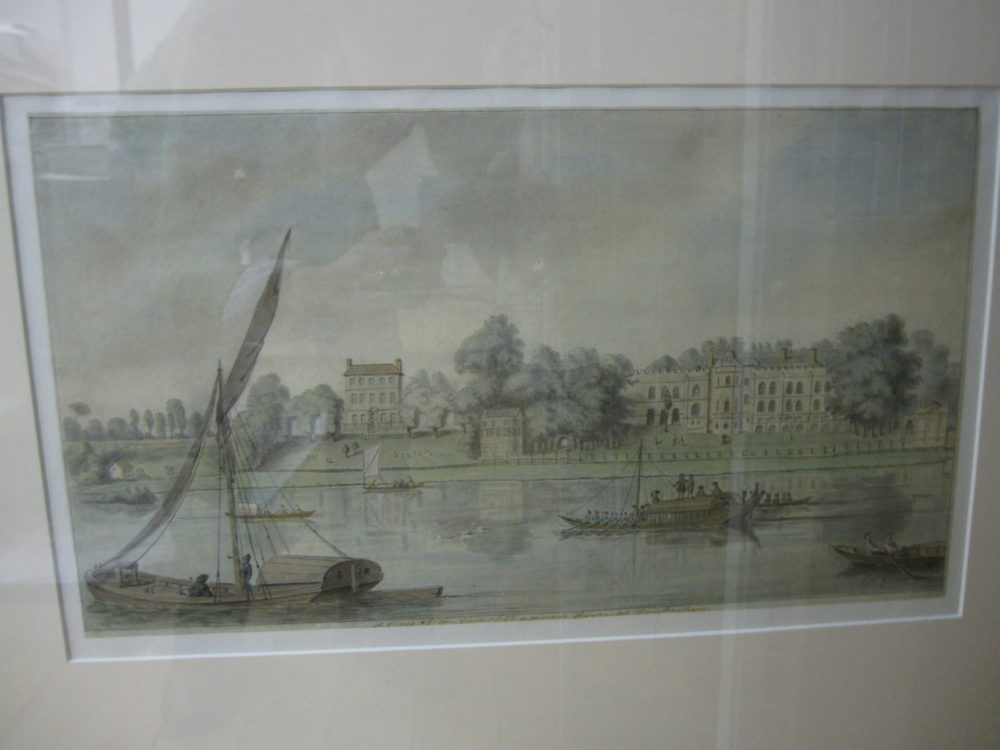 A view of the Earl of Radnor's House at Twickenham