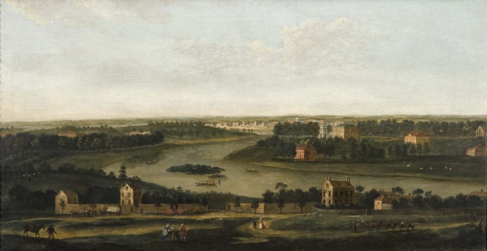 A View from Richmond Hill looking South-West