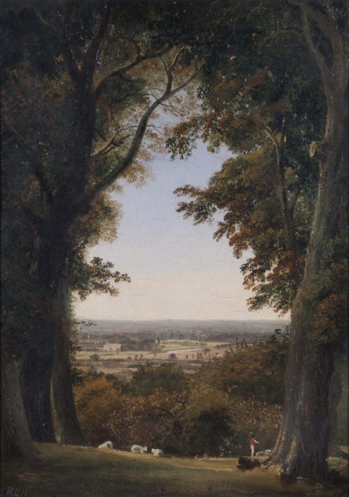 Distant view of Twickenham