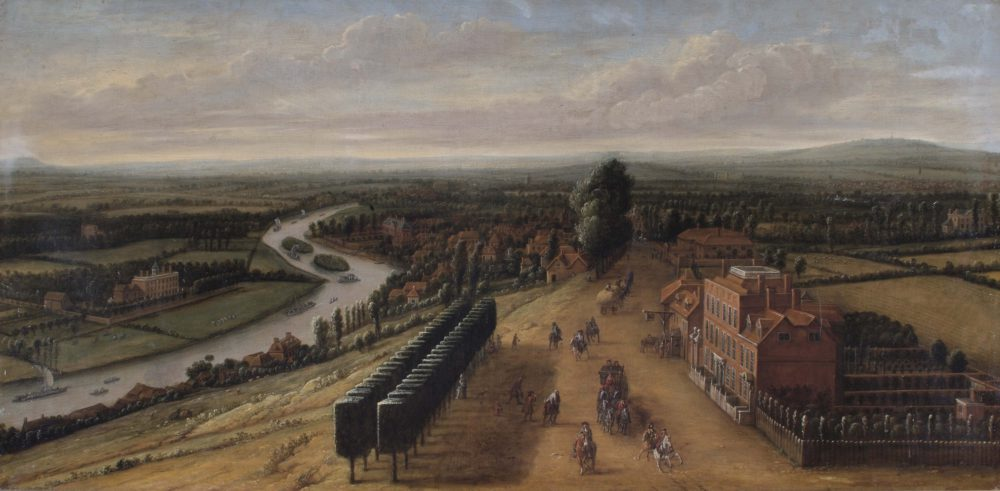The Terrace and View from Richmond Hill