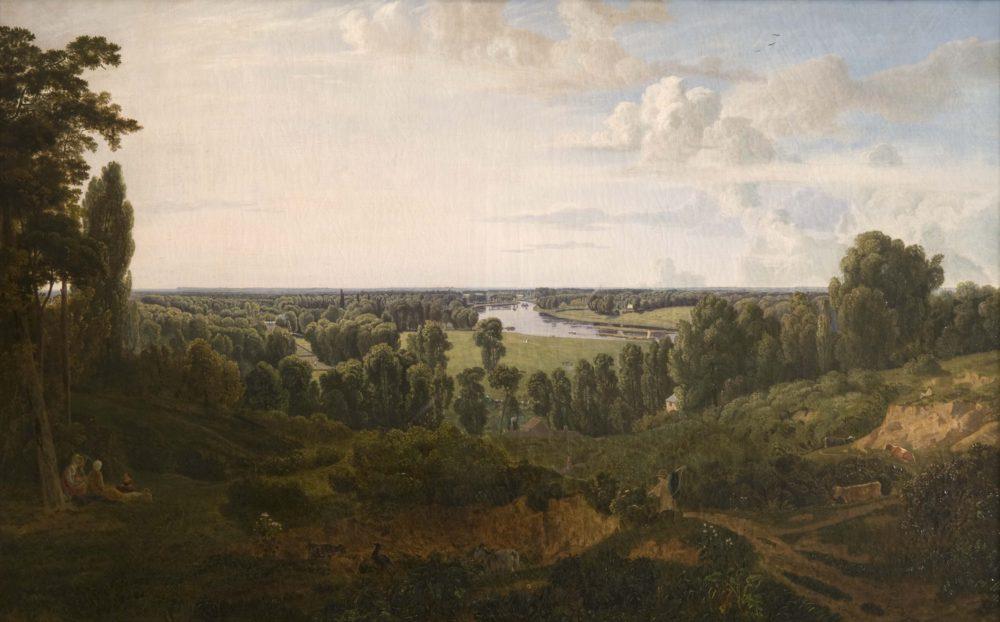 View from Richmond Hill (Twickenham from Richmond)