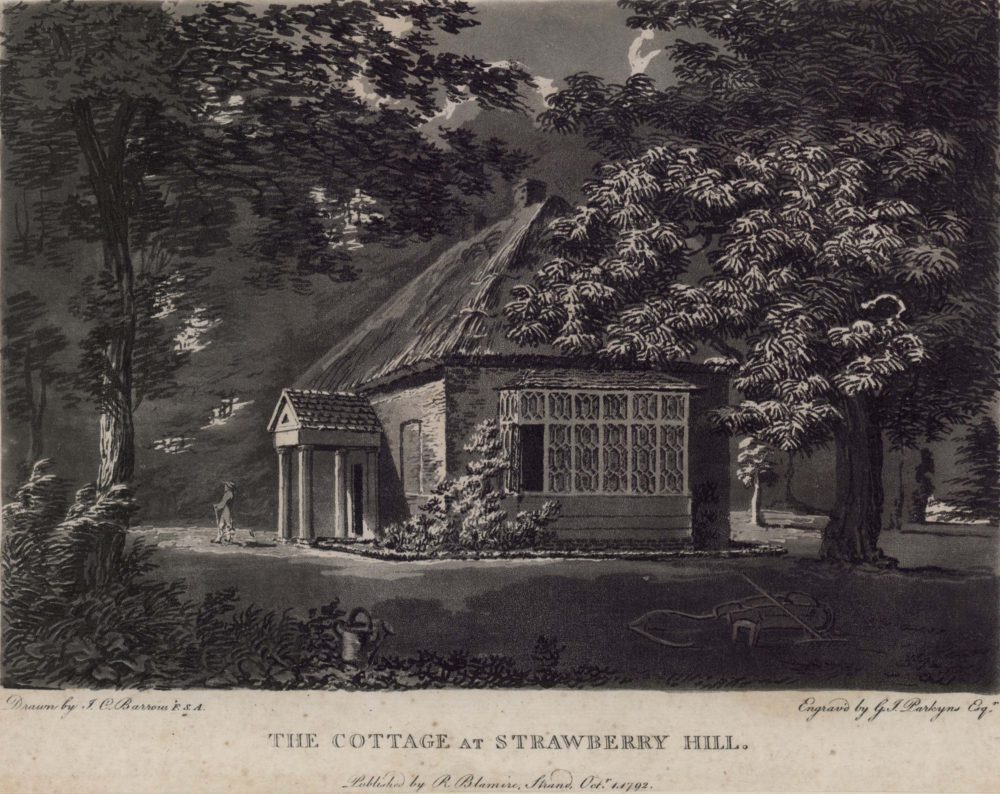 The cottage at Strawberry Hill