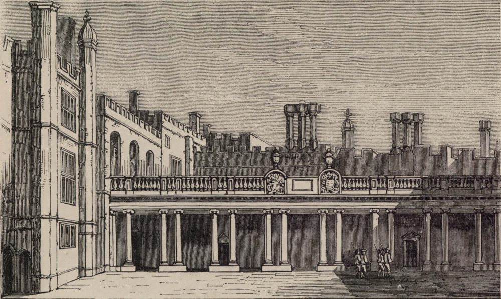 The Colonnade leading to the King's Staircase