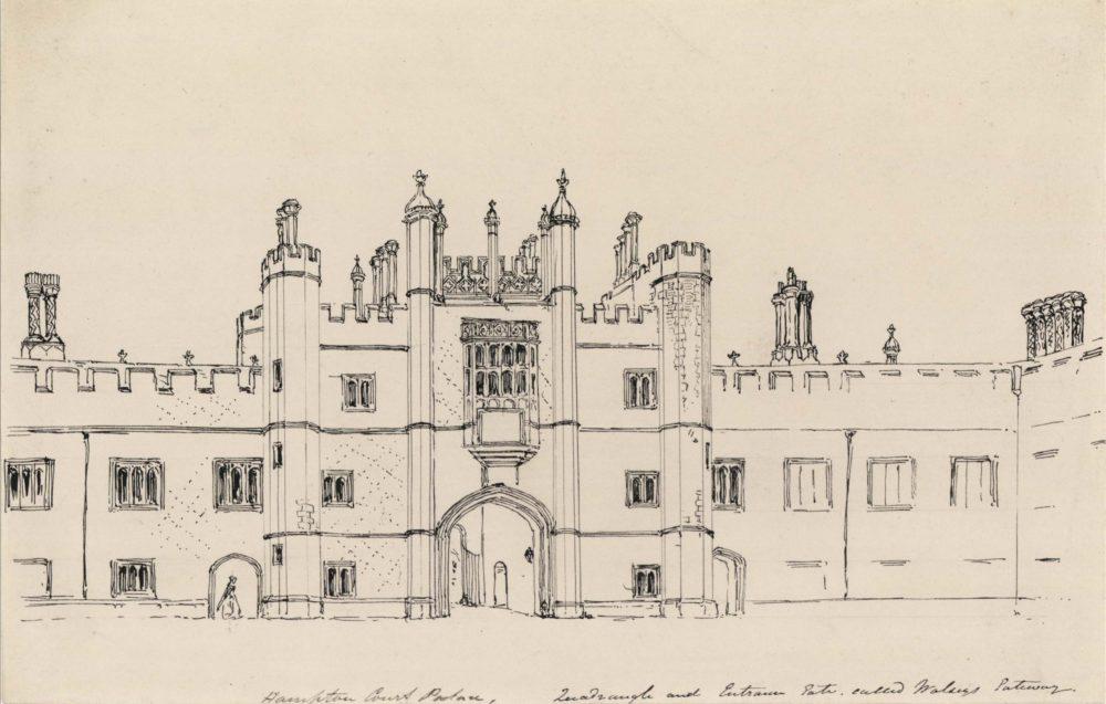 Wolsey's Hall – Inner Gate. Quadrangle