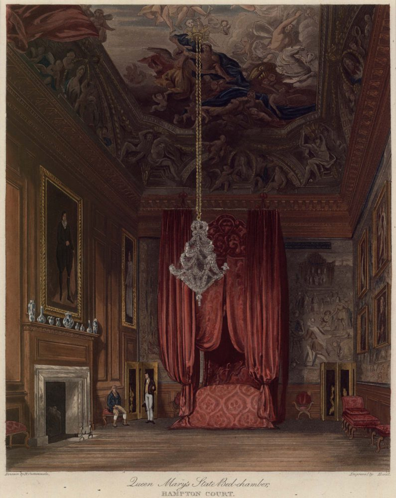 Queen Mary's State Bedchamber Hampton Court