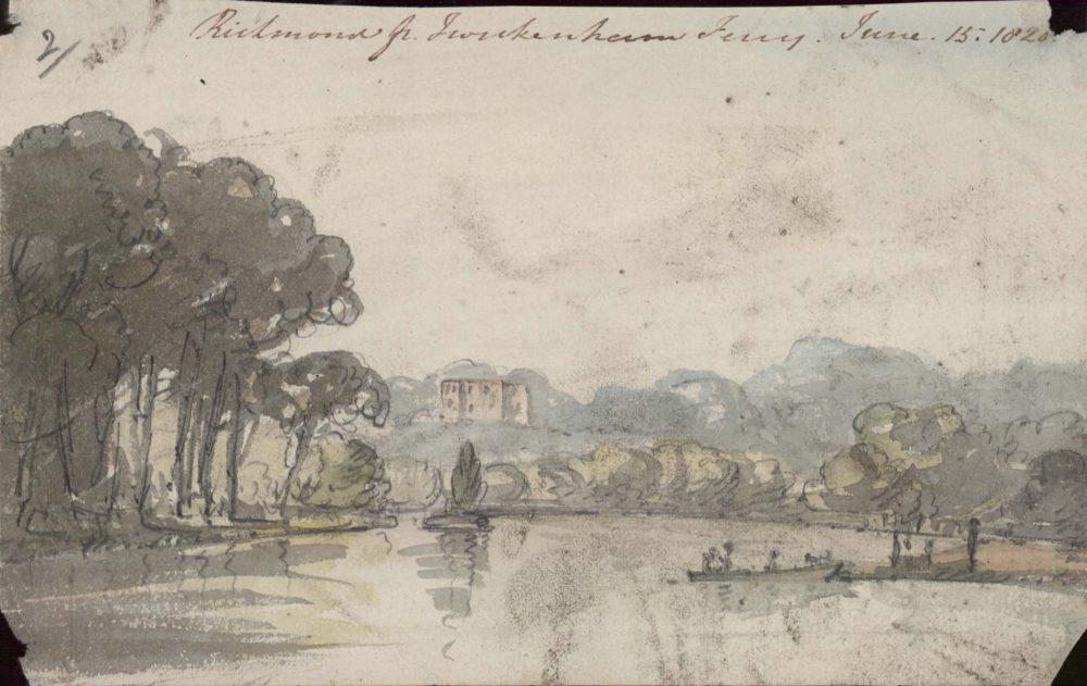 Richmond from Twickenham Ferry