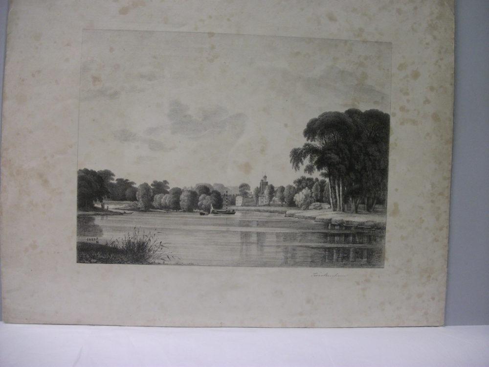 [St Marys Twickenham from the River]