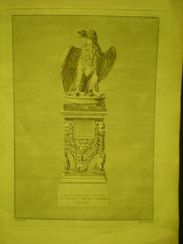'Vetus Aquilae Signum in Aedibus Horatii Walpole Londini'