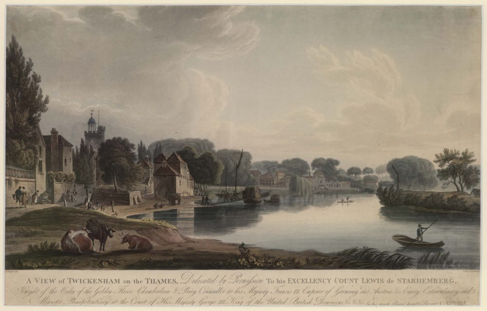A View of Twickenham on the Thames