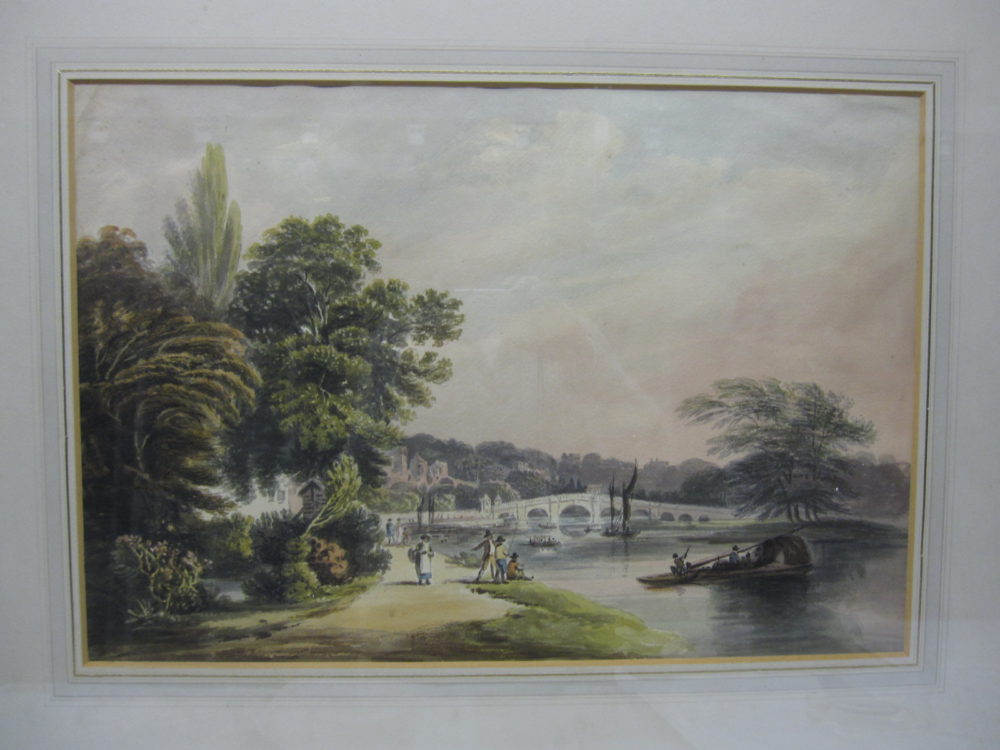 View of the Thames at Richmond