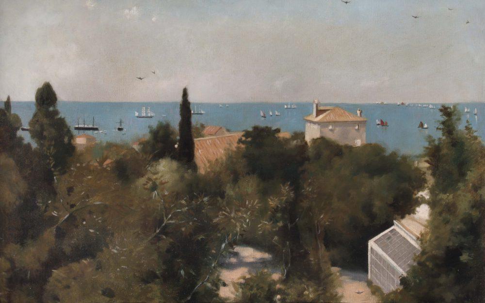 View of the coastline, Trieste
