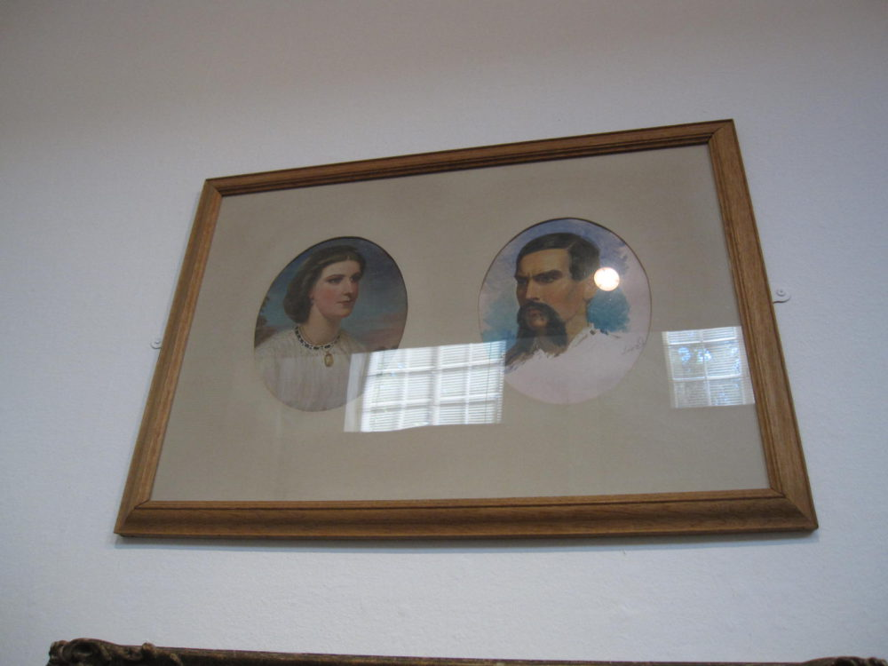 Richard and Isabel Burton (at the time of their marriage)