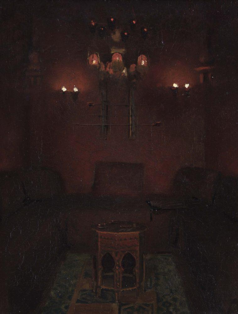 Interior of Sir Richard Burton's chapel