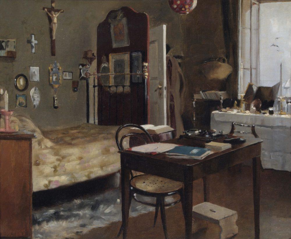 Interior of Sir Richard Burton's Bedroom