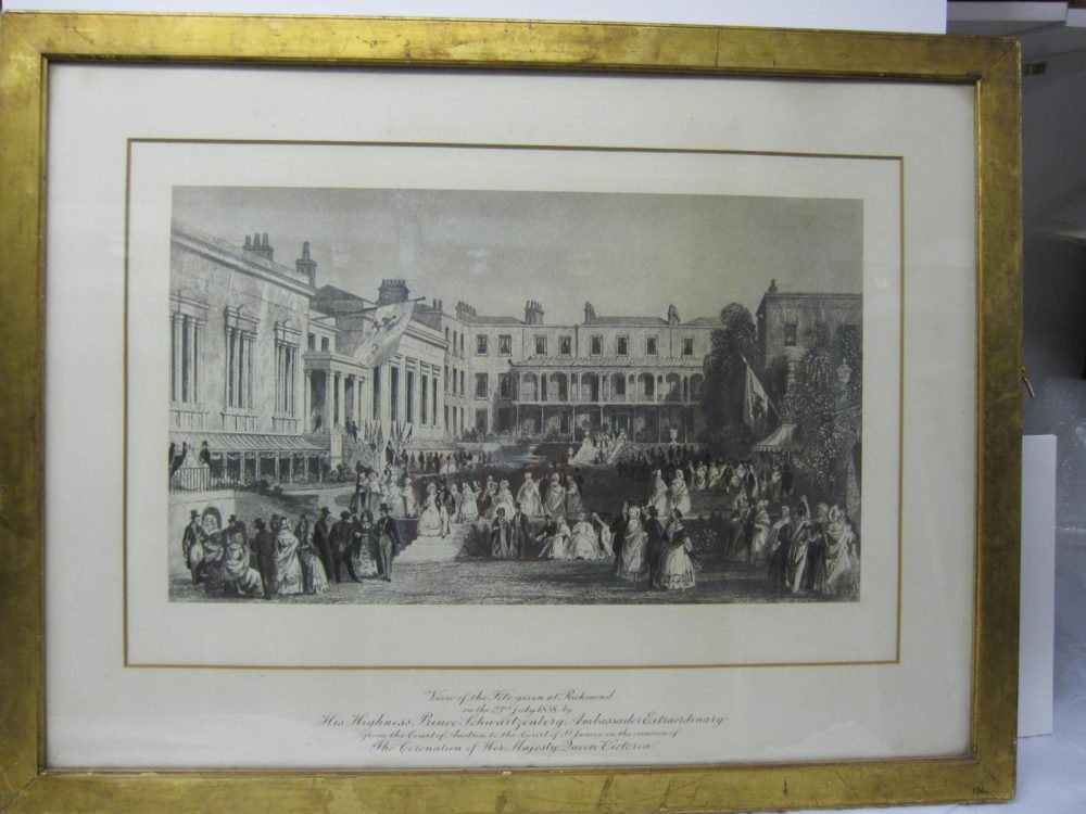 View of the Fete given at Richmond on the occassion of the Coronation of Her Majesty Queen Victoria