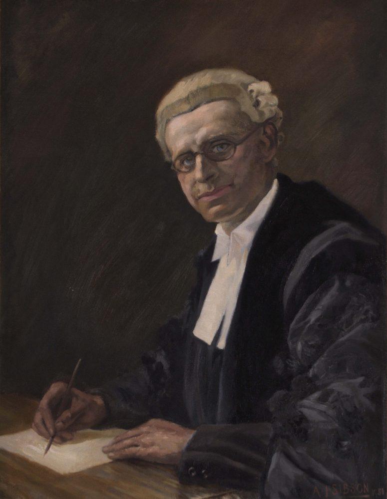 Portrait of a lawyer