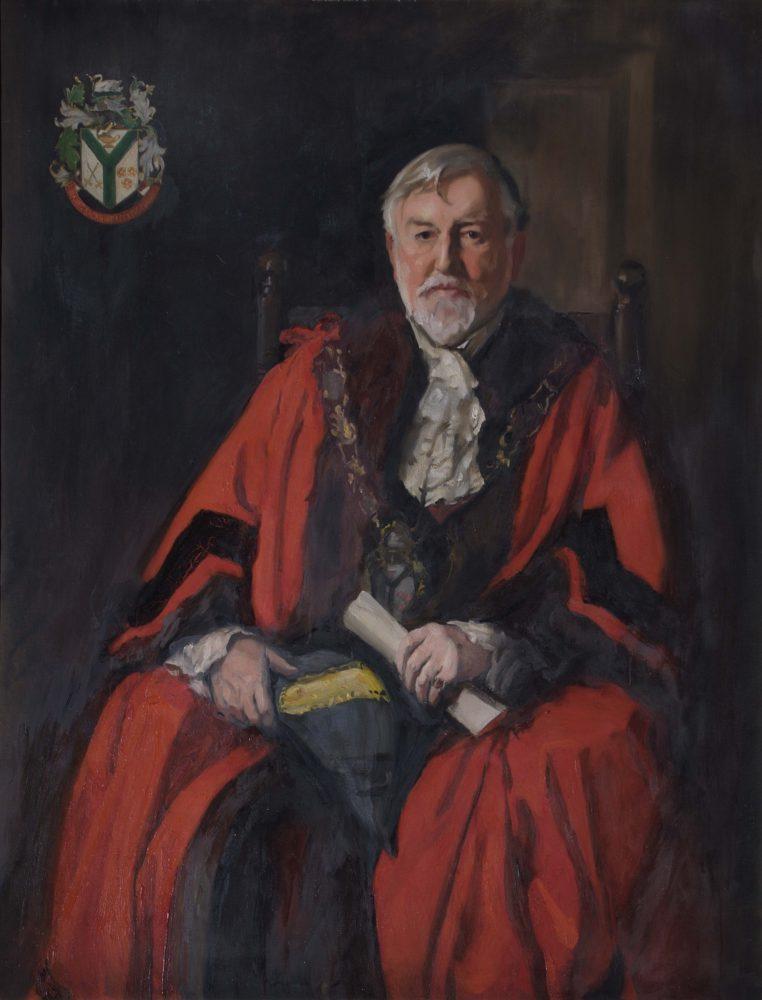 Dr. John Rudd Leeson, first Mayor of Richmond upon Thames