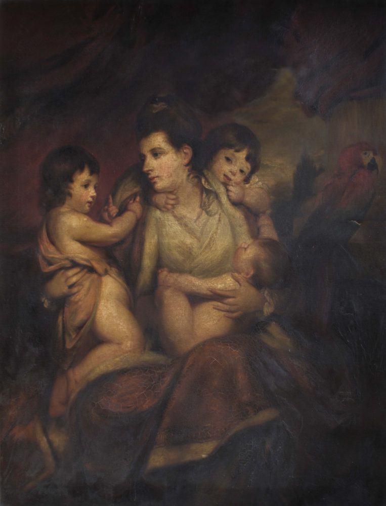 Lady Cockburn and her children