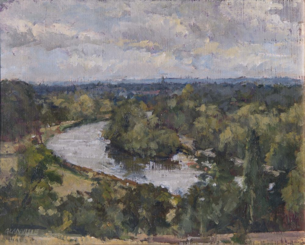 The Thames from Richmond Terrace
