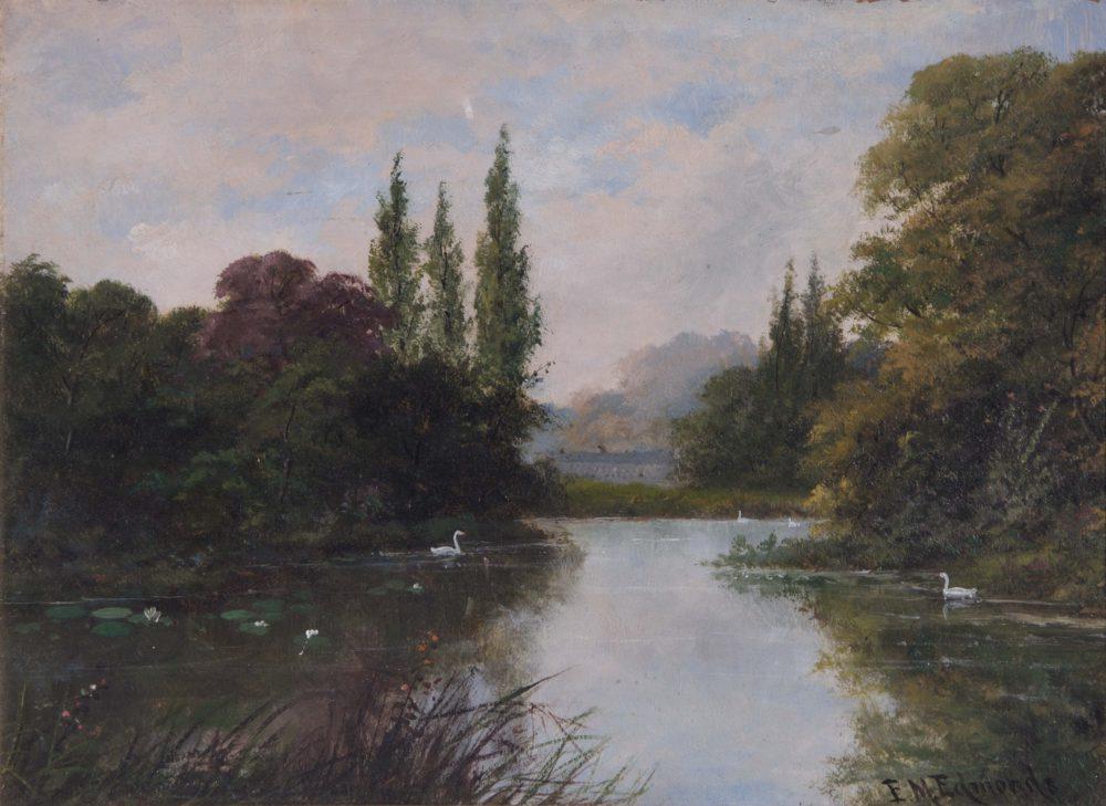 The Lake Kew Gardens
