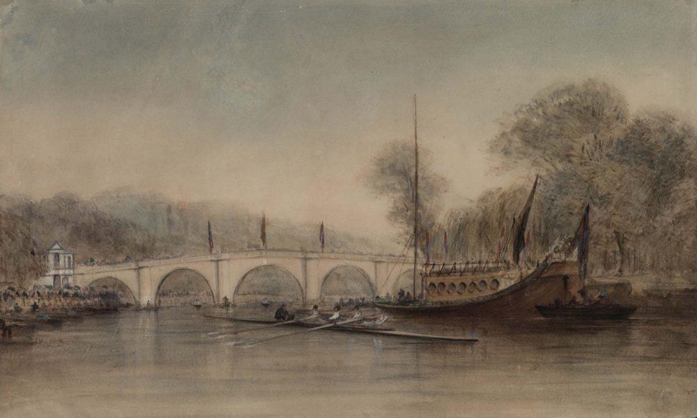 Richmond Regatta August 16th 1848