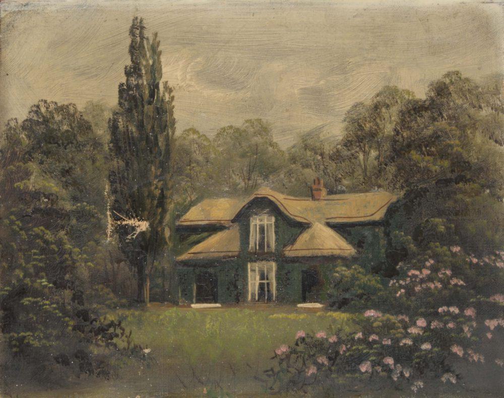 Kew Garden – Queen Caroline's Cottage near Pagoda