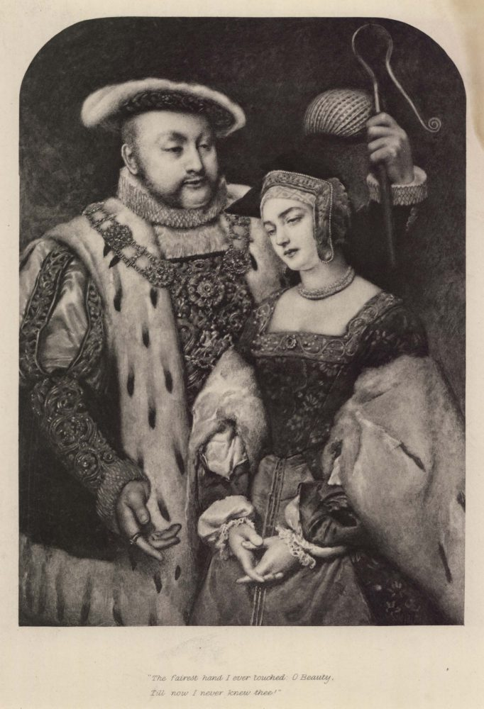 King Henry VIII and Anne Bolyn