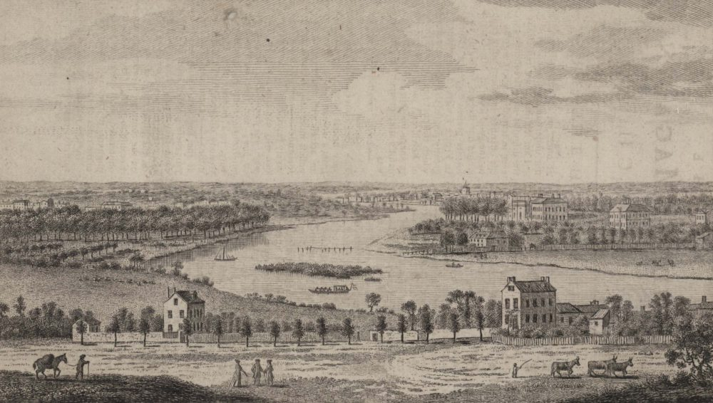 A View From Richmond Hill up the River