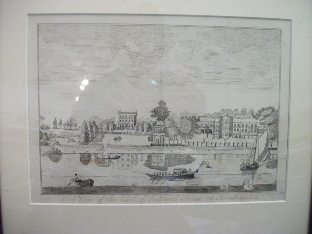 A View of the Earl of Radnors House at Twickenham