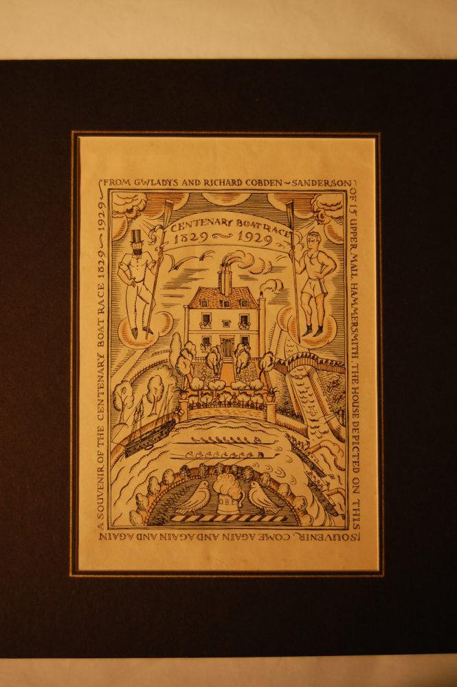 A Souvenir of the Centenary Boat Race (1829-1929)