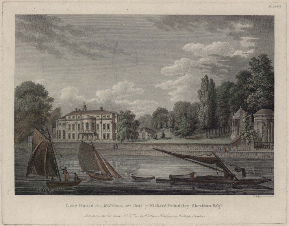 Lacy House in Middlesex the Seat of Richard Brindsley Sheridan Esqr