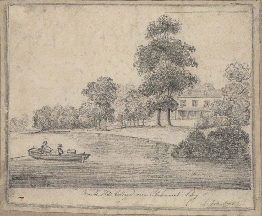 Marble Hill Cottage near Richmond Surry