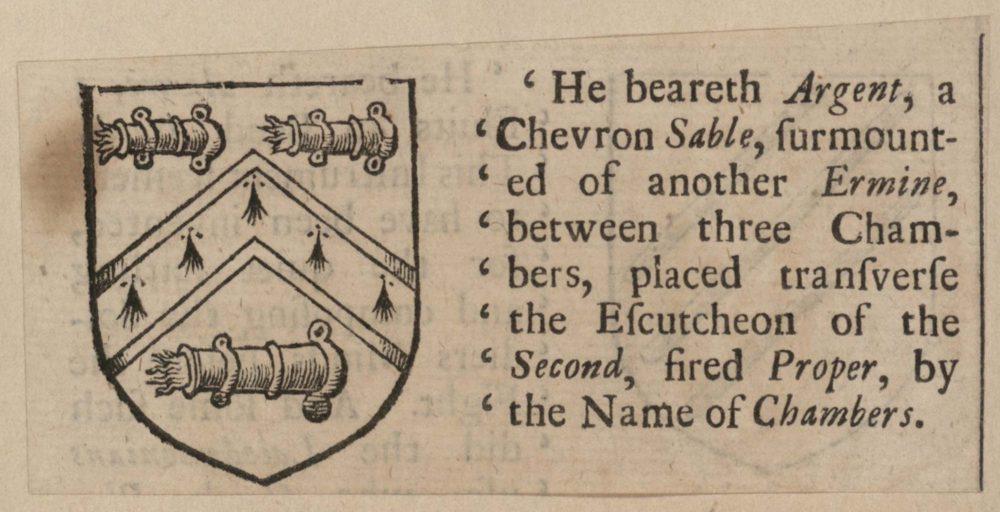 'He beareth Argent…'
