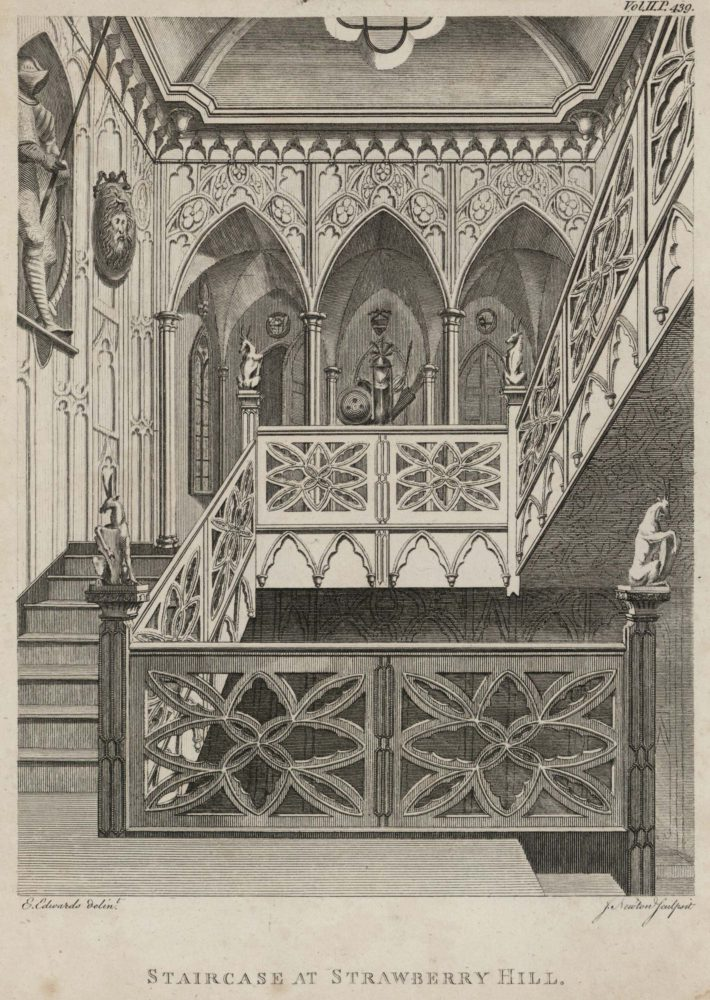 Staircase at Strawberry Hill