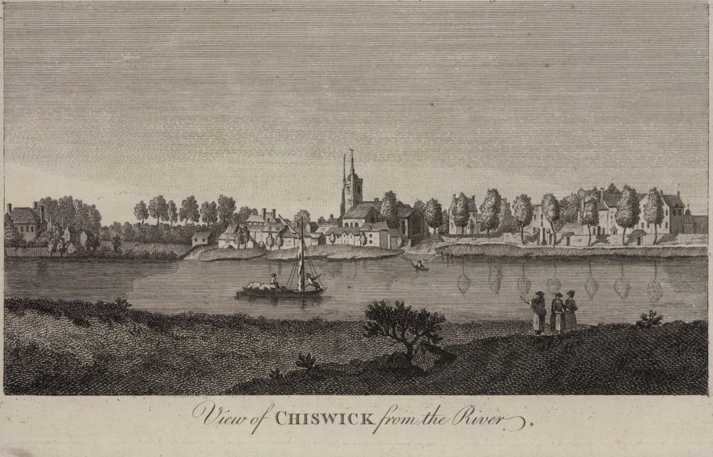 View of Chiswick from the River