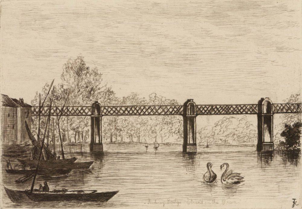 Railway Bridge – Strand on the Green