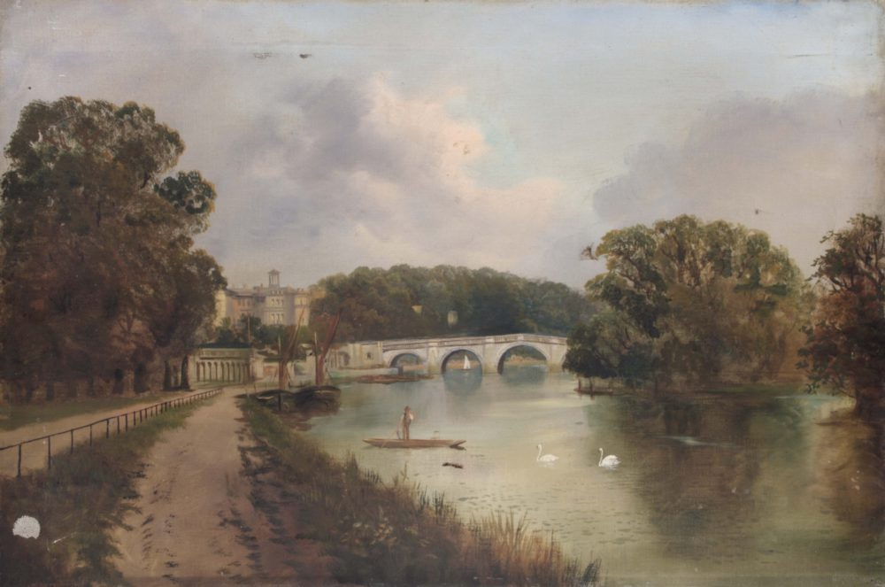 Richmond Bridge – looking from Twickenham