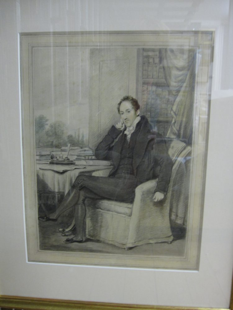 portrait of man in Reeves family
