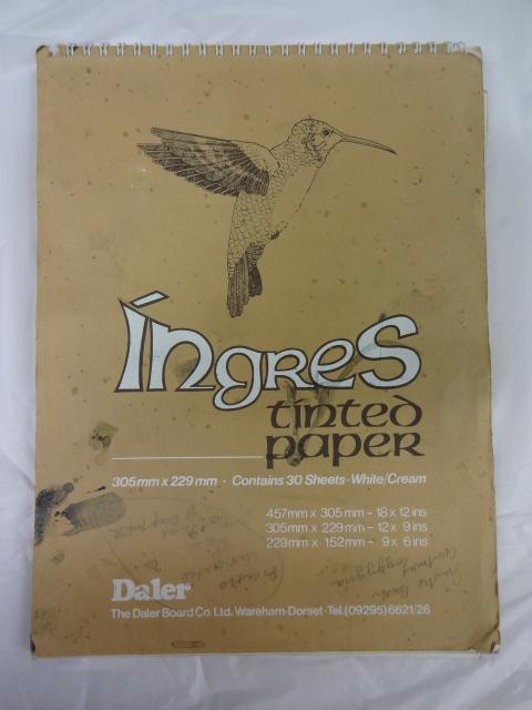 Ingres Tinted Paper Sketchbook