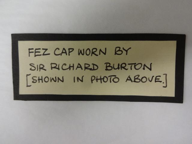 Fez Cap work by Sir Richard Burton