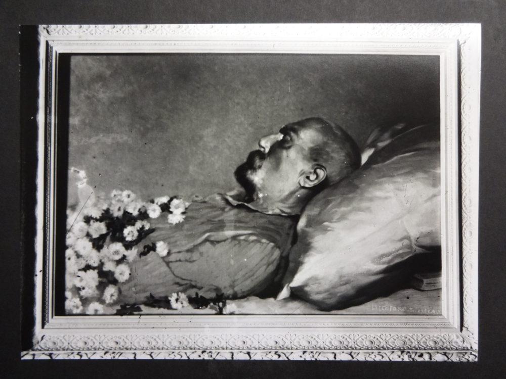 Albert Letchford's memorial painting of Sir Richard Burton