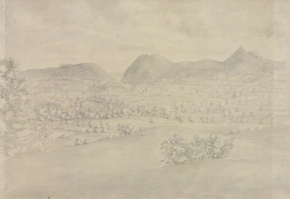 Landscape View from Powis Castle