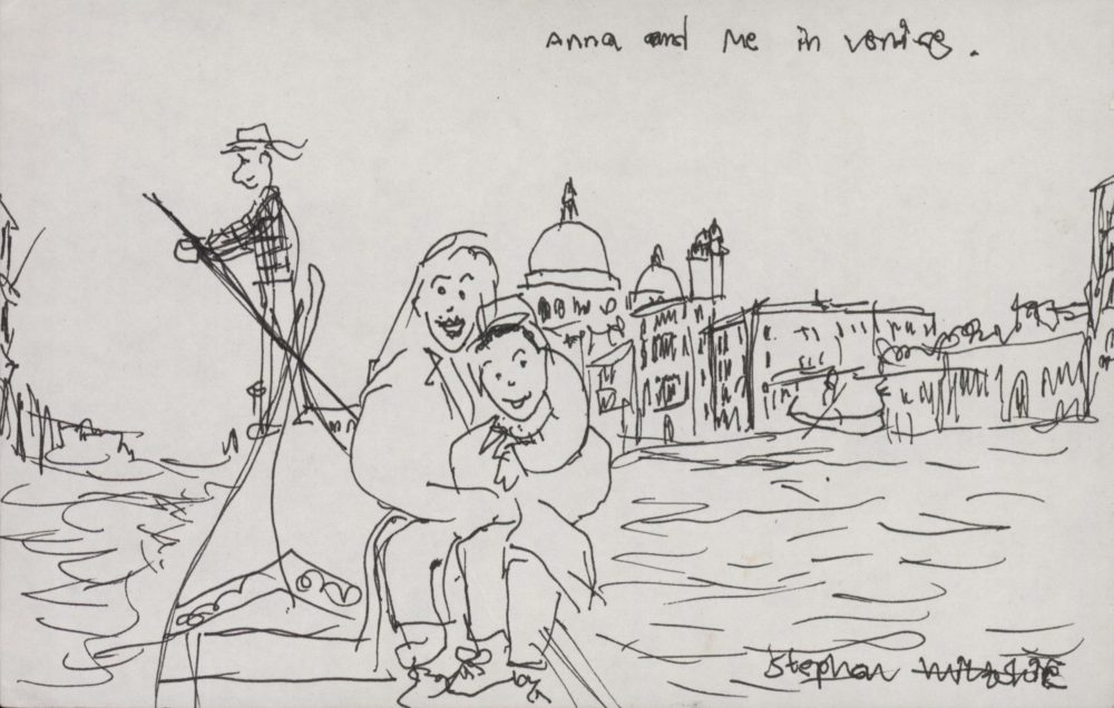 Anna and me in Venice