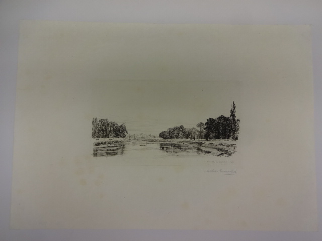 Isleworth, From Kew Gardens