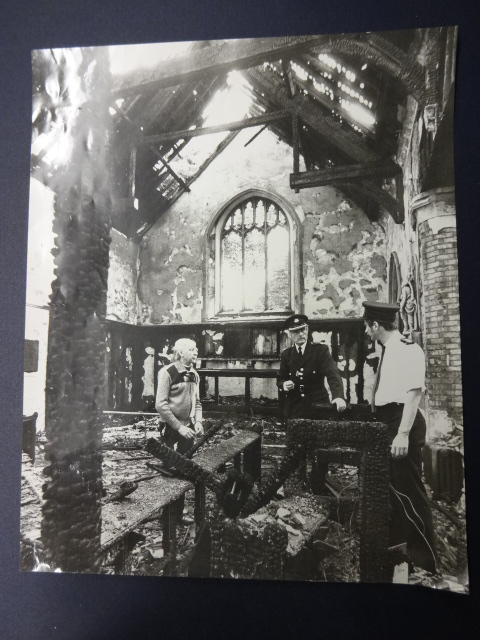 Fire at St Mary's Church