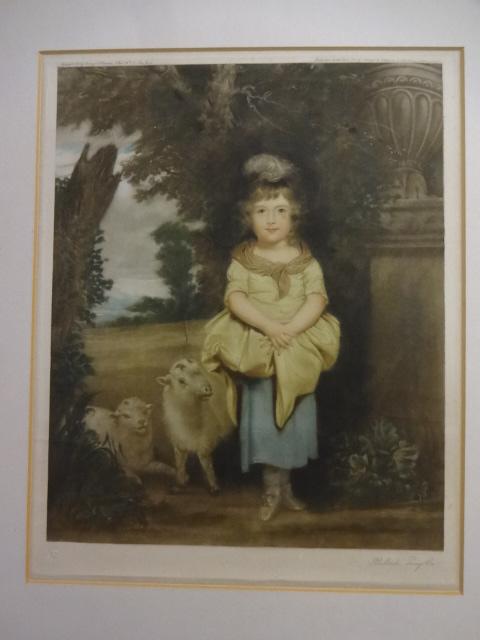 Miss Price as a Shepherdess