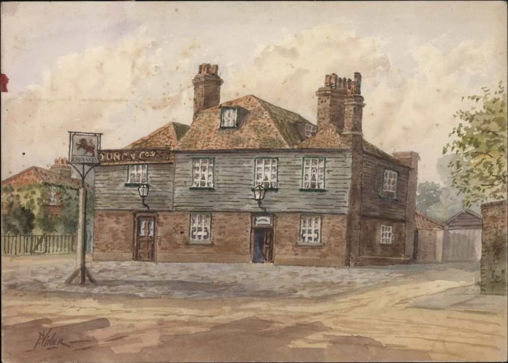 The Red Lion, Red Lion Street, Richmond 1904