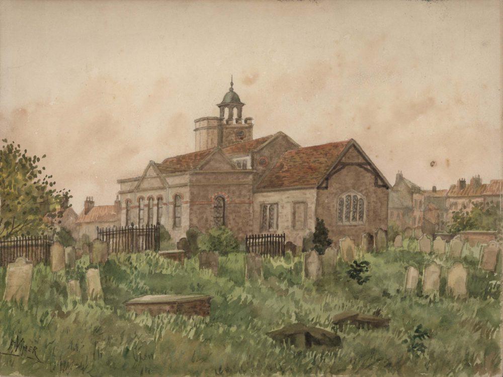 St Mary Magdalene Parish Church, Richmond 1800